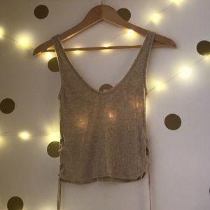 URBAN OUTFITTERS CROP TANK TOP ⚡️